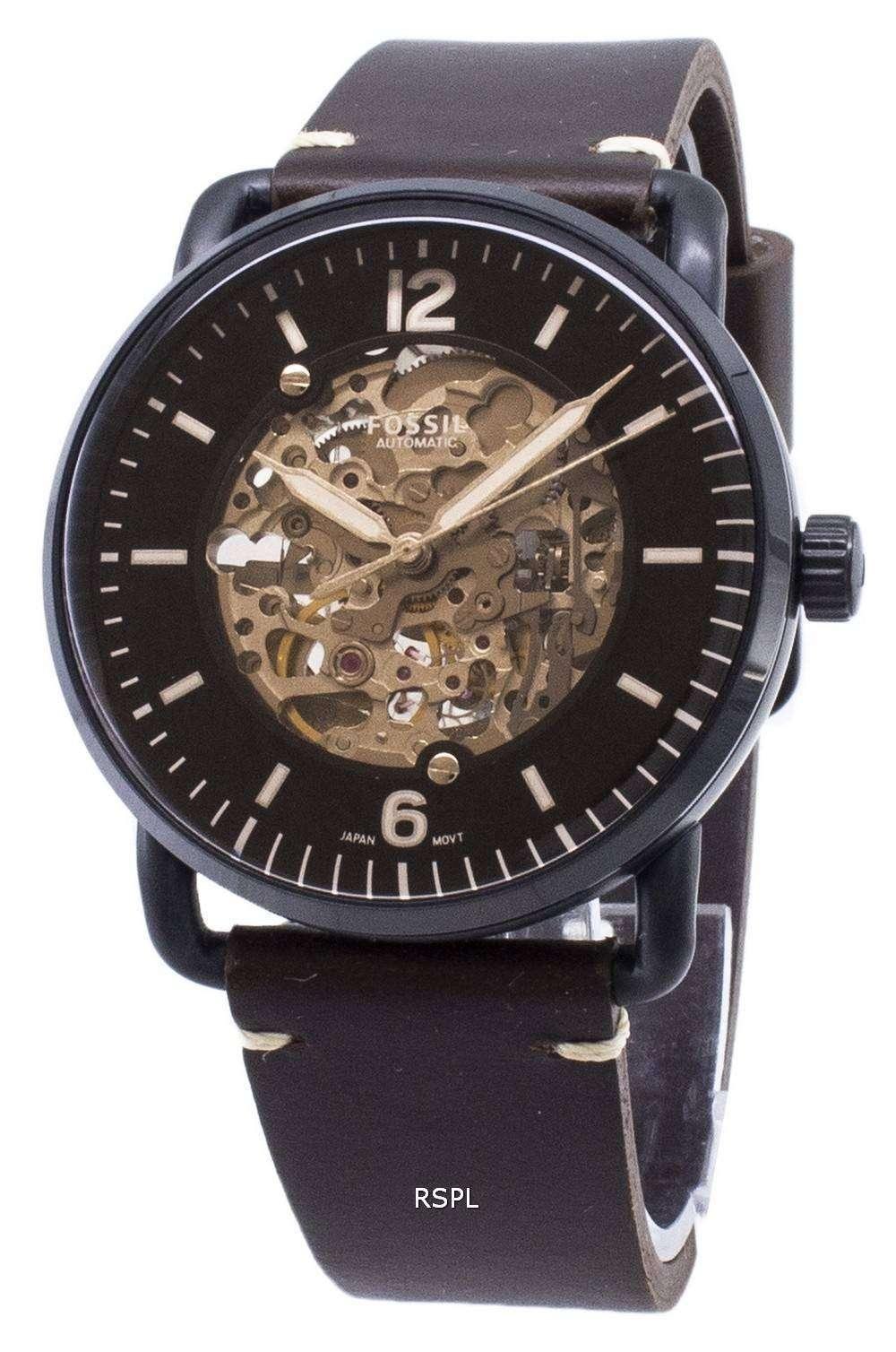 化石通勤 ME3158 自動アナログ メンズ腕時計腕時計