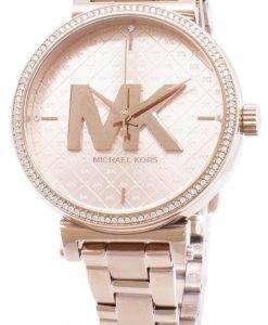 ミハエル Kors ソフィー MK4335 石英アナログ女性の腕時計