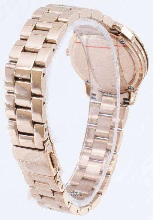 ミハエル Kors ダイヤモンド アクセント MK6619 石英アナログ レディース腕時計