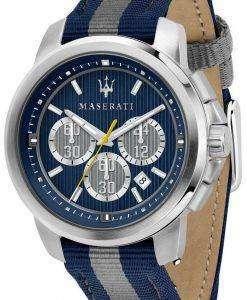 マセラティ ・ ロイヤル R8871637001 クロノグラフ クォーツ メンズ腕時計