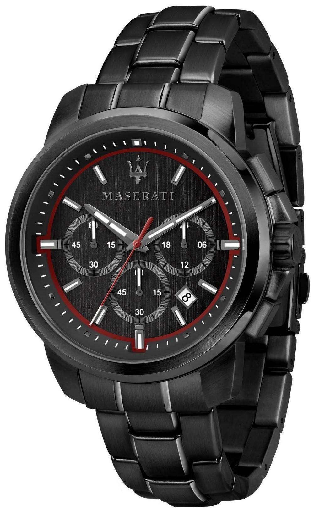 マセラティ Successo R8873621014 クロノグラフ クォーツ メンズ腕時計