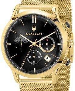 マセラティ Ricordo R8873633003 石英アナログ メンズ腕時計