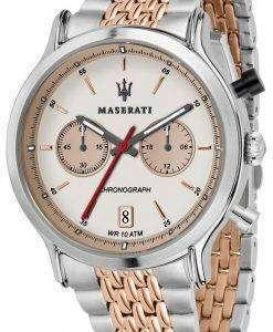 マセラティ伝説 R8873638002 クロノグラフ クォーツ メンズ腕時計