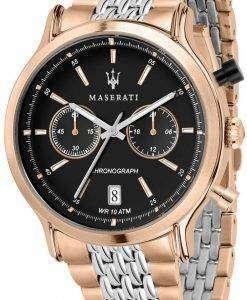 マセラティ伝説 R8873638005 クロノグラフ クォーツ メンズ腕時計