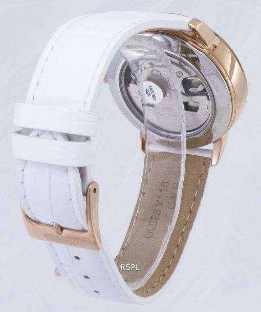 太陽の方向を設定し、月の RA AK0004A00C ダイヤモンド アクセント自動レディース腕時計