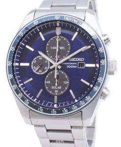 セイコー発見もっと SSC719 SSC719P1 SSC719P クロノグラフタキメーターメンズ腕時計