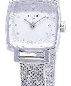 ティソ T-レディラブリースクエア T 058.109.11.036.00 T0581091103600 ダイヤモンドアクセントクォーツレディース腕時計
