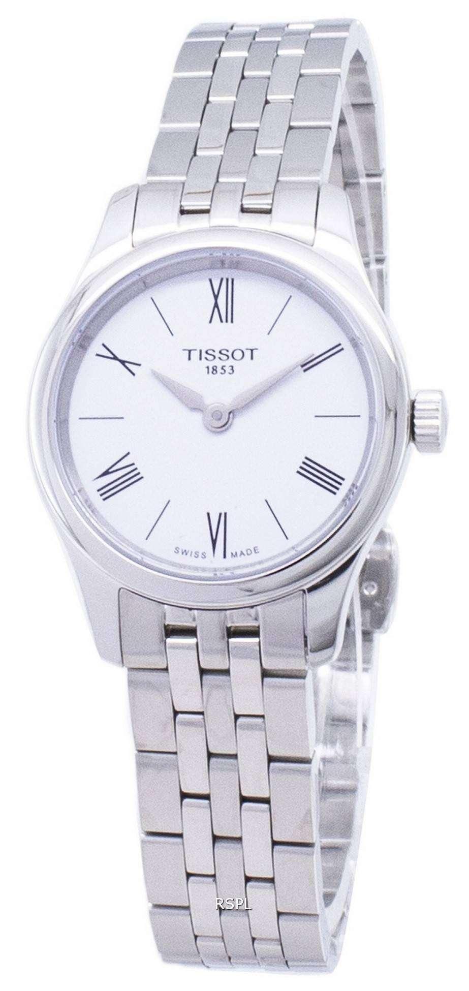 ティソ T-古典的な伝統 5.5 女性 T063.009.11.018.00 T0630091101800 クオーツ レディース腕時計
