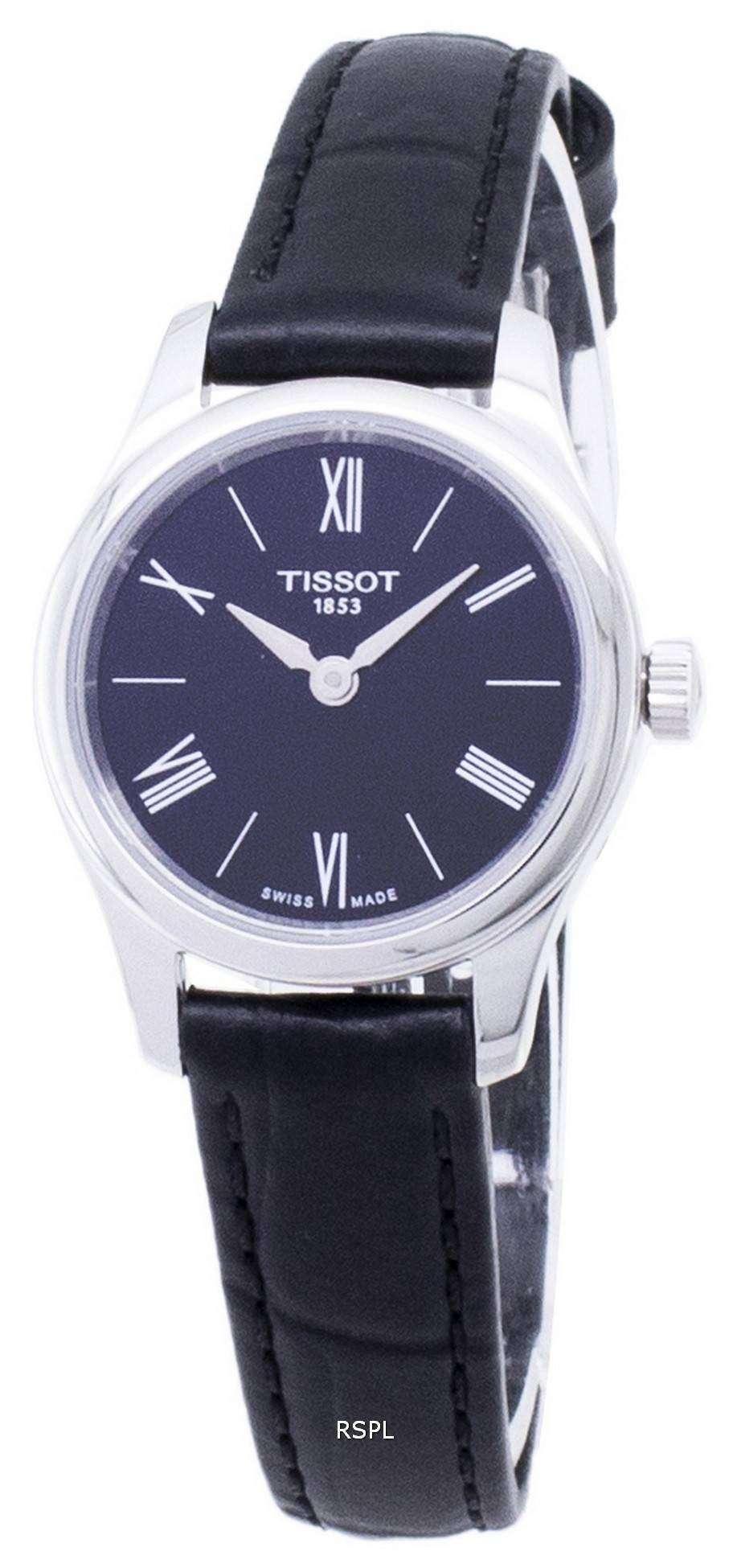 ティソ T-古典的な伝統 5.5 T063.009.16.058.00 T0630091605800 クオーツ レディース腕時計