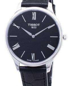 ティソ T-クラシックの伝統 5.5 T 063.409.16.058.00 T0634091605800 クォーツアナログメンズ腕時計