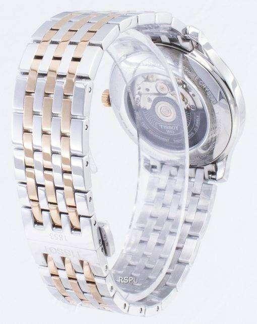 ティソ T-クラシック Powermatic 80 T 063.907.22.038.01 T0639072203801 オープンハートメンズ腕時計