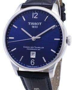 ティソ T-クラシック Powermatic 80 T 099.407.16.047.00 T0994071604700 自動アナログメンズ腕時計