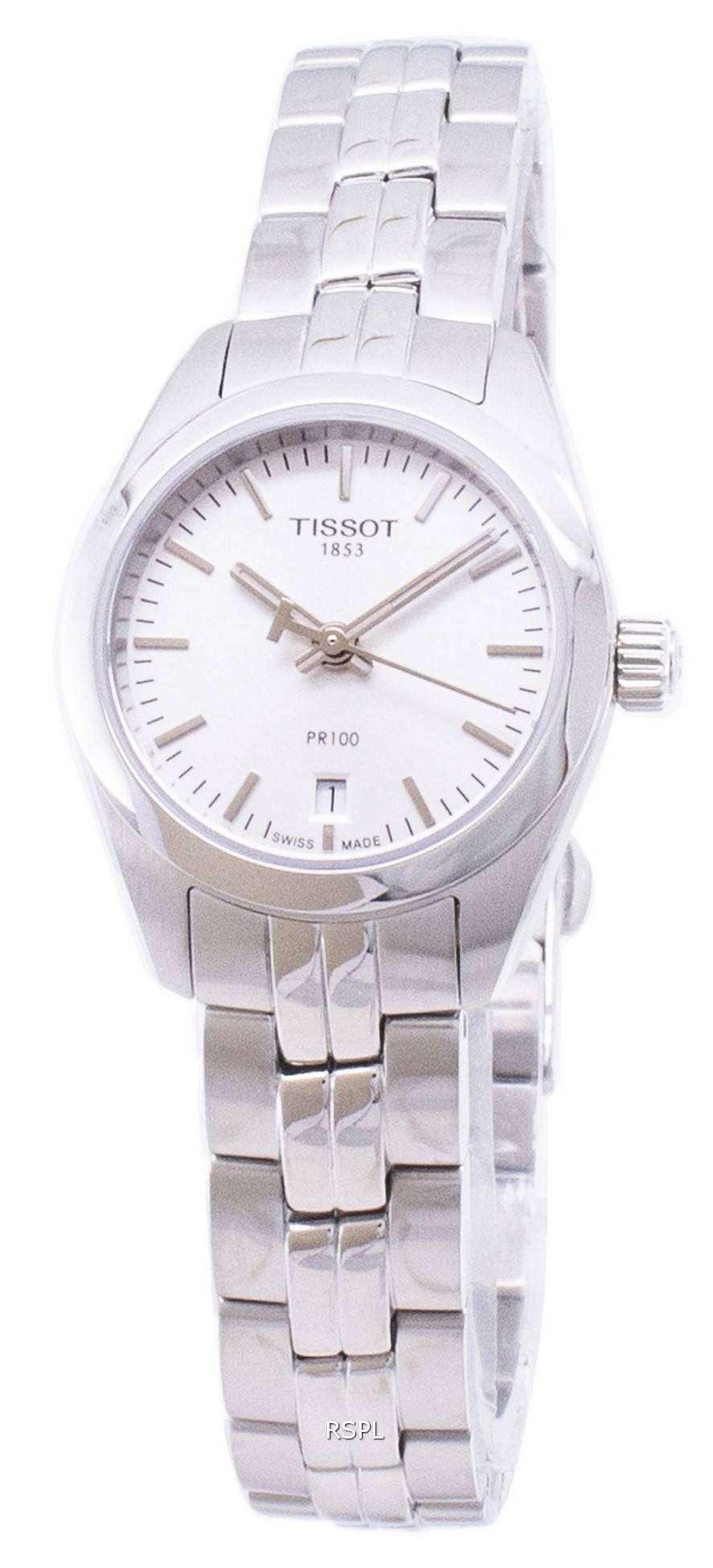 ティソ T-古典的な PR 100 T101.010.11.031.00 T1010101103100 クオーツ レディース腕時計
