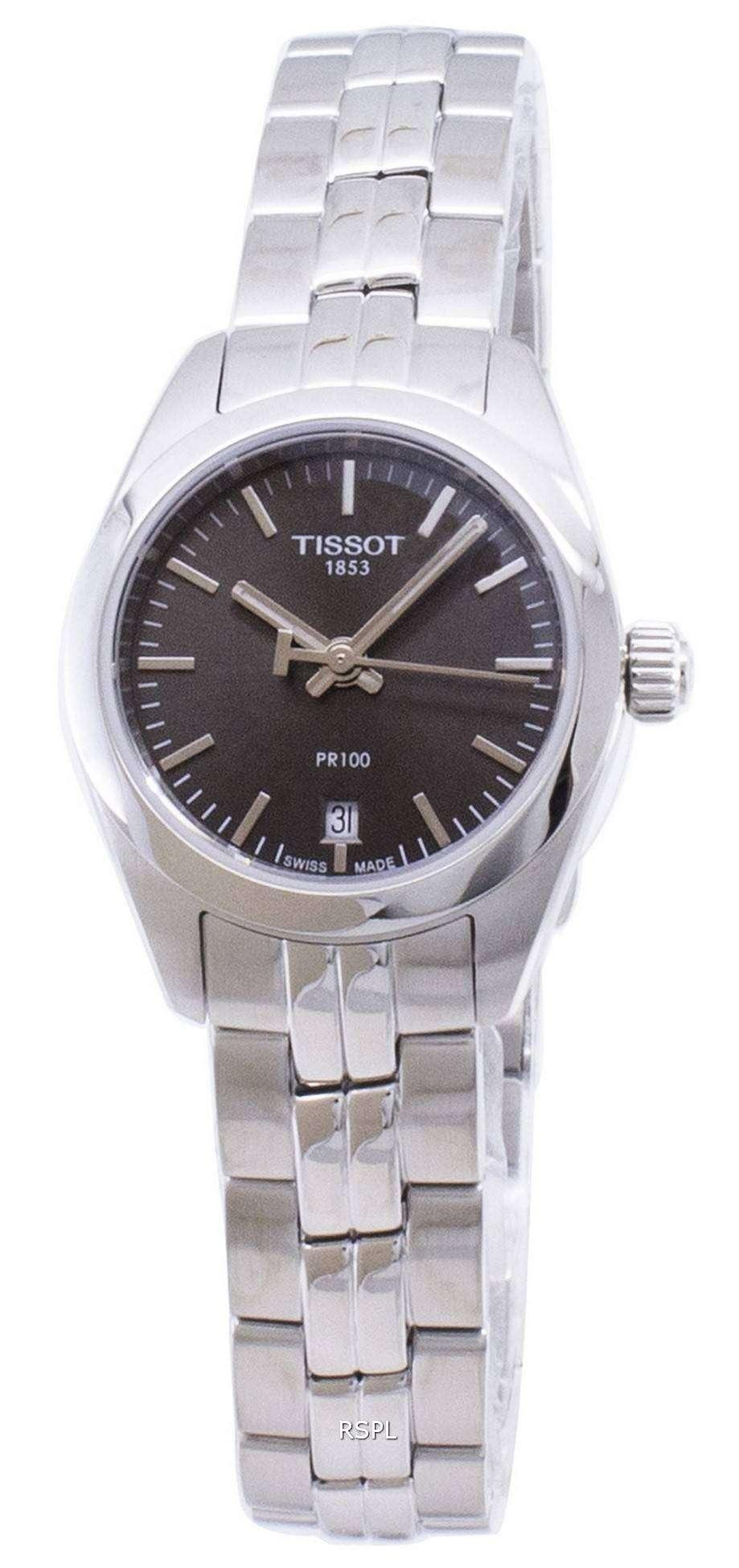 ティソ T-古典的な PR 100 T101.010.11.061.00 T1010101106100 クオーツ レディース腕時計