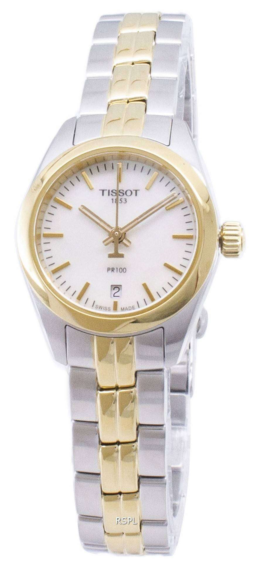 ティソ T-古典的な PR 100 T101.010.22.111.00 T1010102211100 クオーツ レディース腕時計
