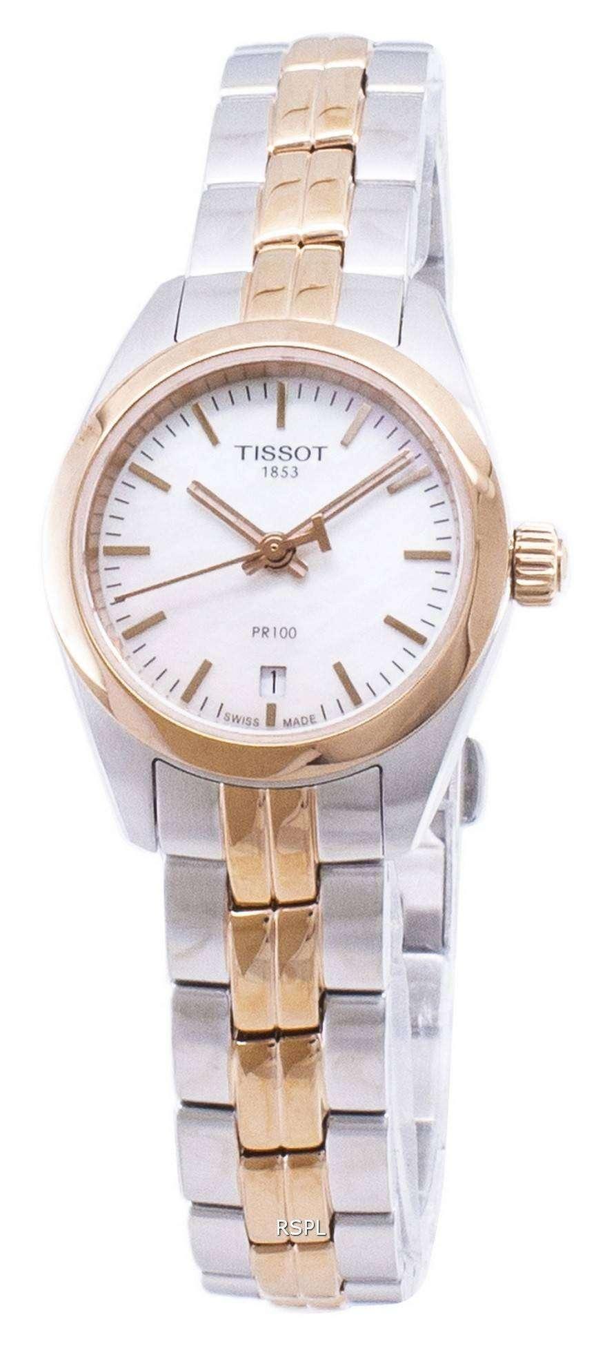 ティソ T-古典的な PR T101.010.22.111.01 T1010102211101 クオーツ レディース腕時計