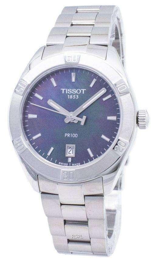ティソ T-クラシック PR 100 T 101.910.11.121.00 T1019101112100 クォーツアナログレディースウォッチ