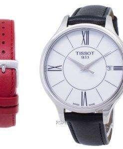ティソ T-女性へら又は T103.210.16.018.00 T1032101601800 クオーツ レディース腕時計
