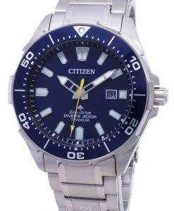 市民エコドライブ BN0201-88L Promaster ダイバーの200M メンズ腕時計