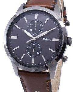 化石町民 FS5522 クロノグラフクォーツメンズ腕時計