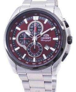オリエントクラシック FTT13001H クロノグラフクォーツメンズ腕時計