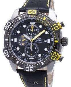 オリエントスポーツ FTT16005B クロノグラフクォーツメンズ腕時計