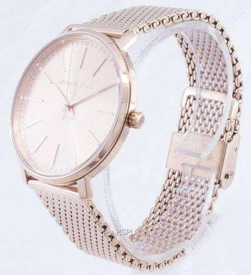 マイケルコースパイパー MK4340 ダイヤモンドアクセントクォーツレディース腕時計
