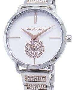 マイケルコースポーシャ MK4352 ダイヤモンドアクセントクォーツレディース腕時計