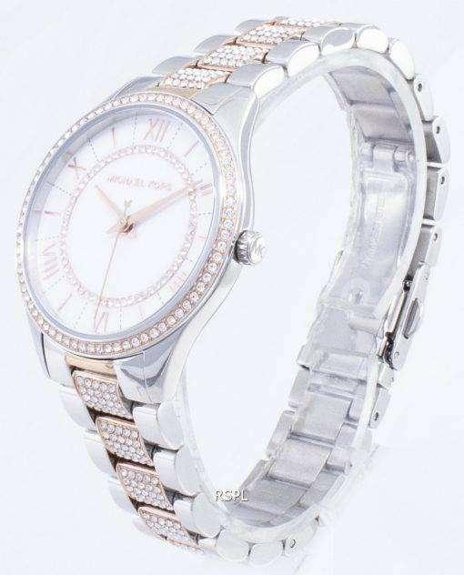 マイケルコースローリン・ MK4366 ダイヤモンドアクセントクォーツレディース腕時計