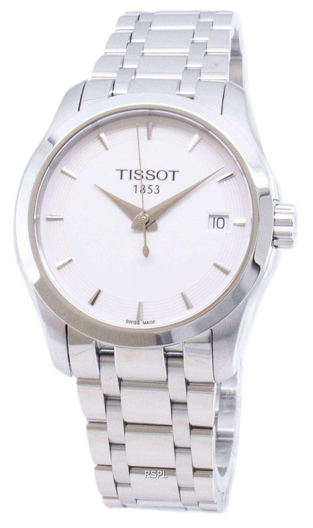 ティソ T-クラシッククチュリエ T 035.210.11.011.00 T0352101101100 クォーツレディースウォッチ
