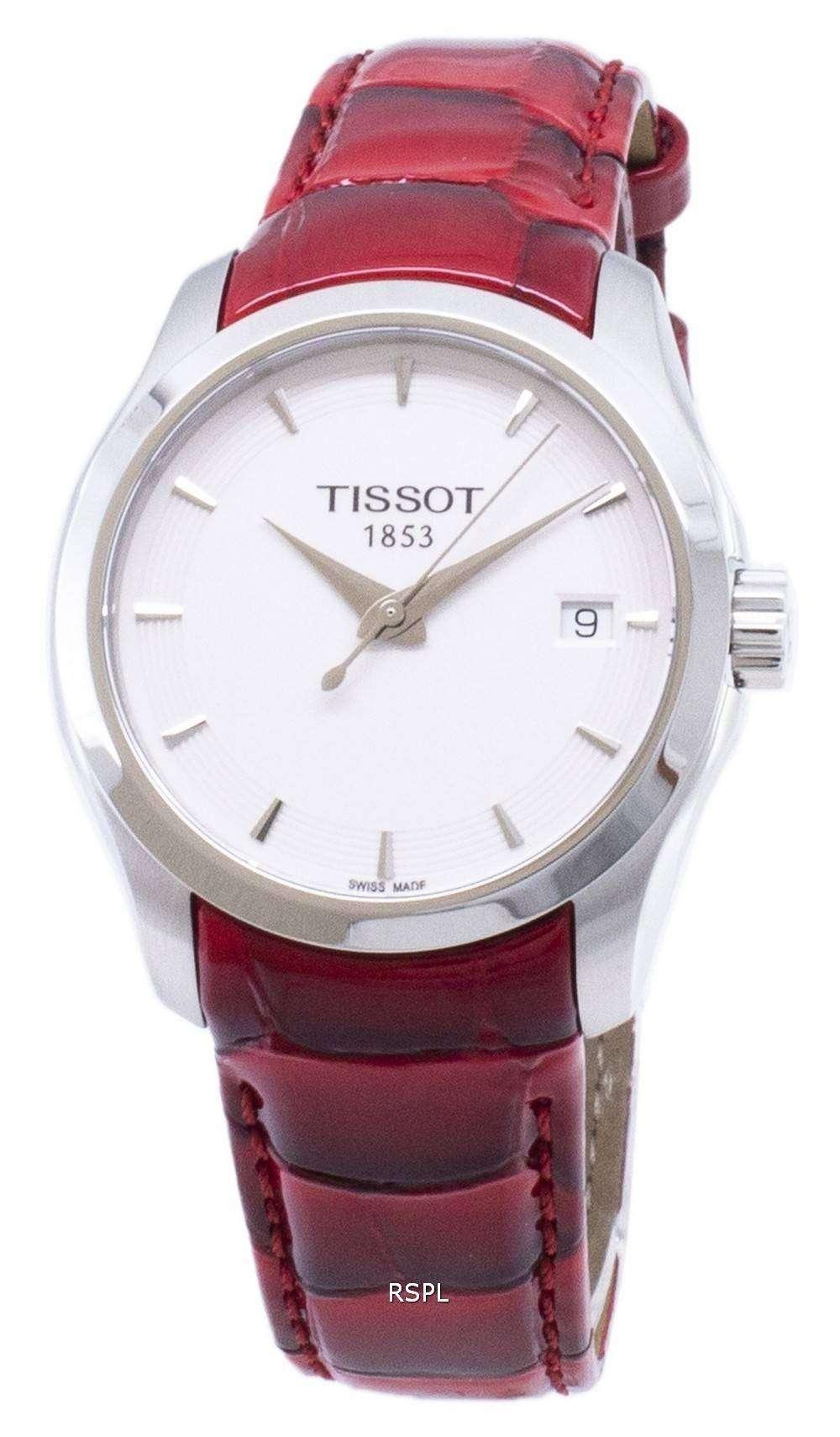 ティソ T-クラシッククチュリエ T 035.210.16.011.01 T0352101601101 クォーツレディースウォッチ
