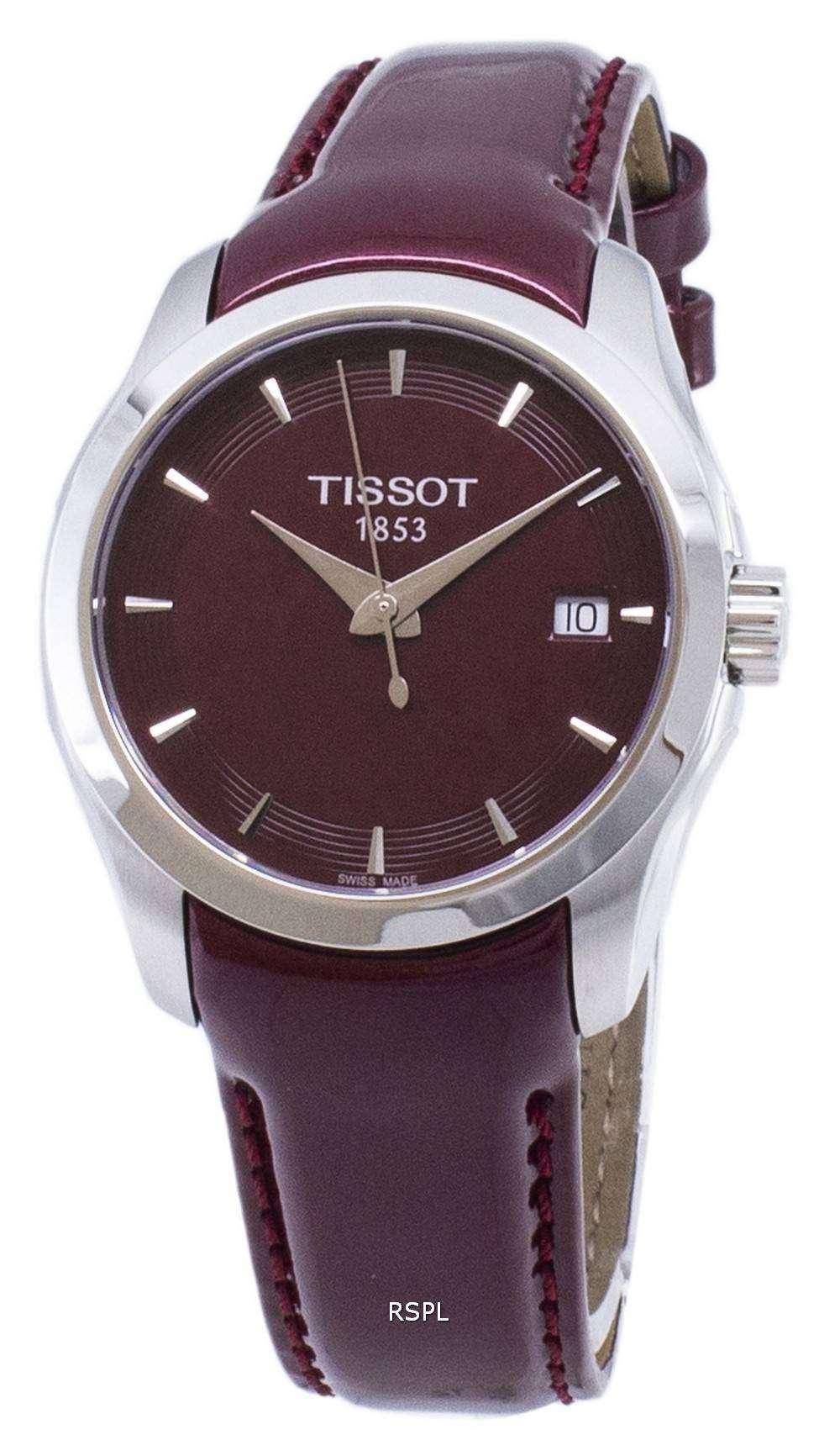 ティソ T-クラシッククチュリエ T 035.210.16.371.00 T0352101637100 クォーツレディースウォッチ