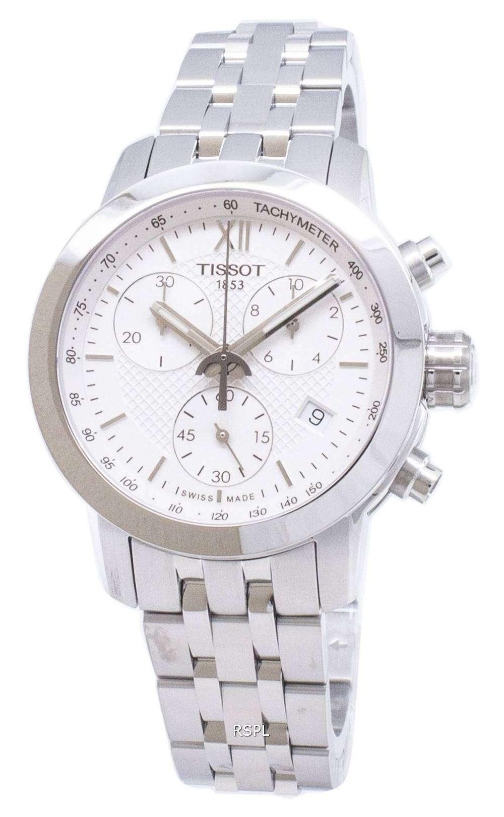ティソ特別コレクション PRC 200 T 055.217.11.018.00 T0552171101800 クロノグラフ200M レディース腕時計