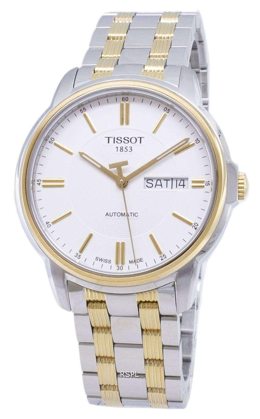 ティソ T-クラシック自動 III T 065.430.22.031.00 T0654302203100 アナログメンズ腕時計