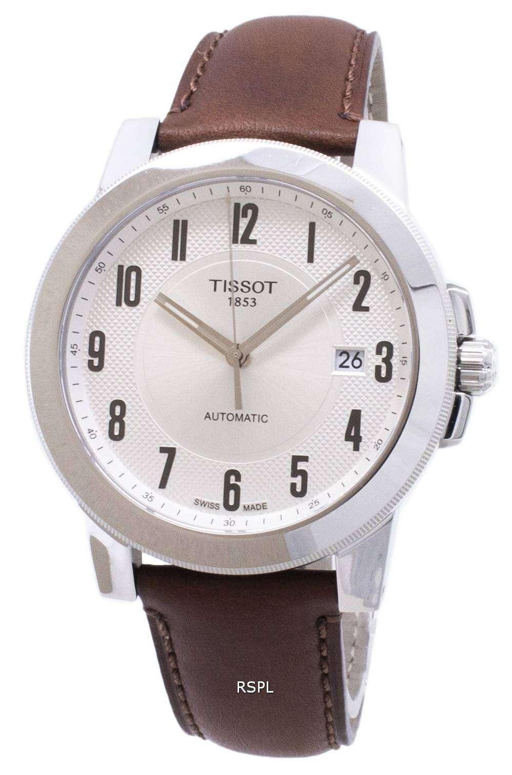 ティソ T-スポーツ紳士 Swissmatic T 098.407.16.032.00 T0984071603200 自動メンズ腕時計
