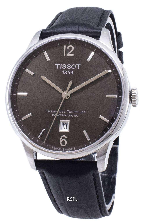 ティソ T-クラシック Chemin デ Tourelles T 099.407.16.447.00 T0994071644700 Powermatic 80 メンズ腕時計