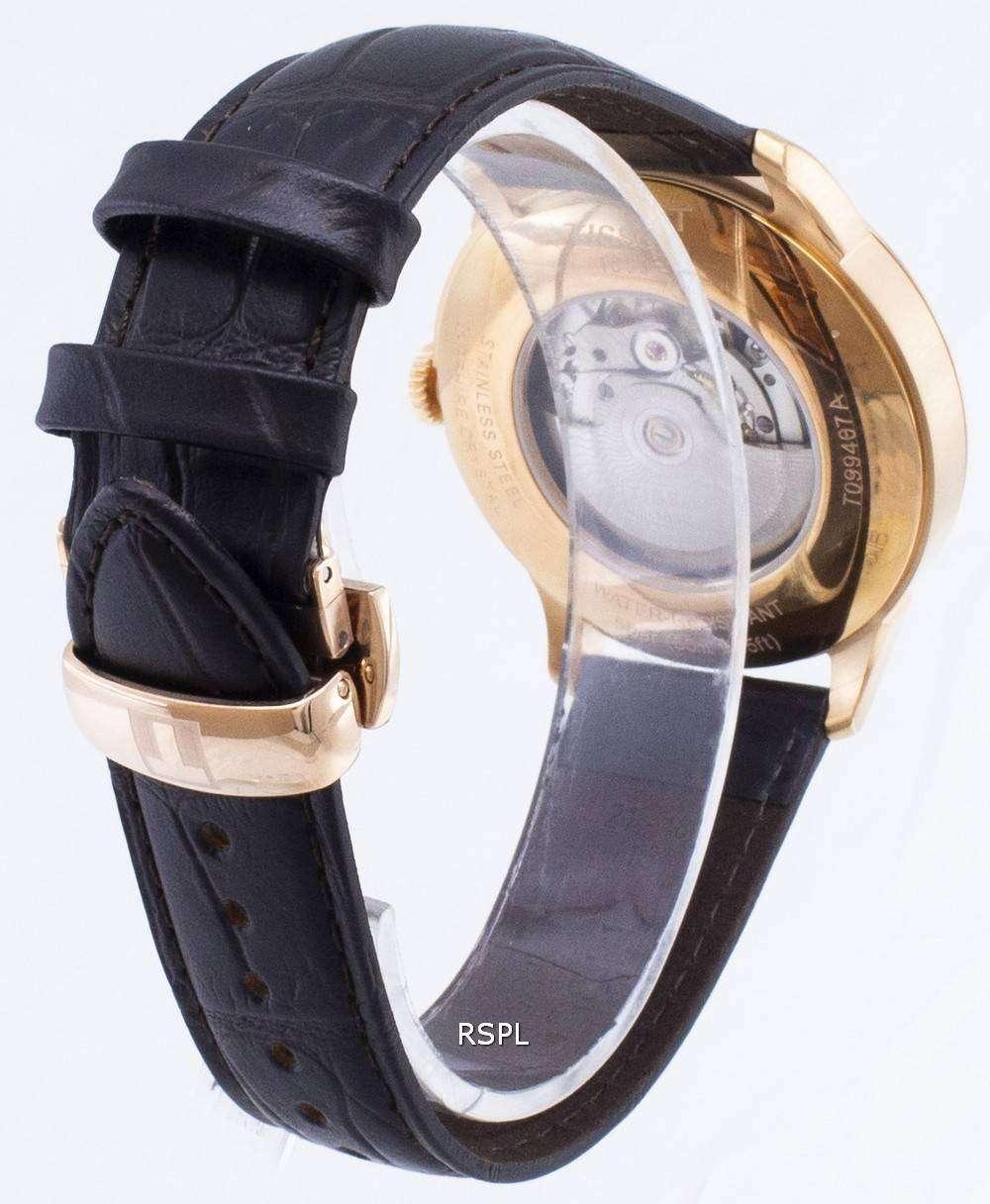 ティソ T-クラシック Chemin デ Tourelles T 099.407.36.038.00 T0994073603800 Powermatic 80 メンズ腕時計