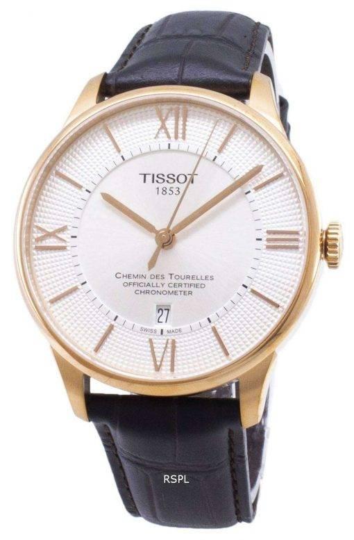 ティソ T-クラシック Chemin デ Tourelles T 099.408.36.038.00 T0994083603800 Powermatic 80 メンズ腕時計