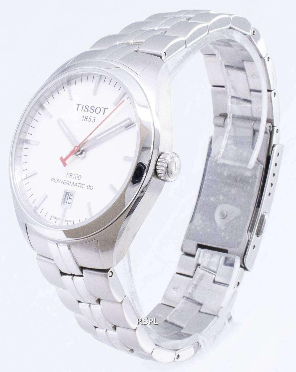 ティソ PR 100 アジア競技大会版 T 101.407.11.011.00 T1014071101100 Powermatic 80 メンズ腕時計