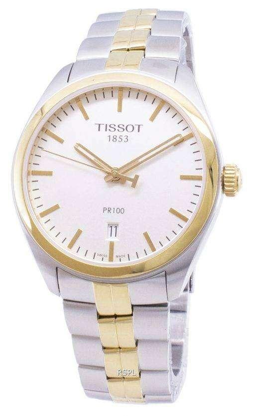 ティソ T-クラシック PR 100 T 101.410.22.031.00 T1014102203100 クォーツアナログメンズ腕時計