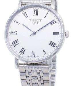 ティソ T-クラシック毎回ミディアム T 109.410.11.033.00 T1094101103300 クォーツアナログメンズ腕時計