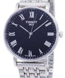 ティソ T-クラシック毎回ミディアム T 109.410.11.053.00 T1094101105300 クォーツメンズ腕時計
