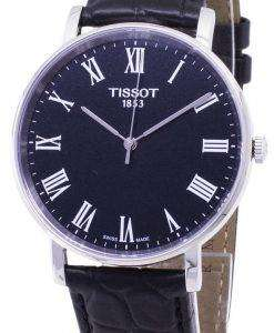 ティソ T-クラシック毎回ミディアム T 109.410.16.053.00 T1094101605300 クォーツアナログメンズ腕時計