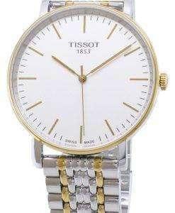 ティソ T-クラシック毎回ミディアム T 109.410.22.031.00 T1094102203100 クォーツアナログメンズ腕時計