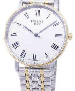 ティソ T-クラシック毎回ミディアム T 109.410.22.033.00 T1094102203300 クォーツメンズ腕時計