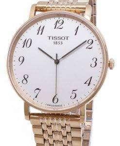ティソ T-クラシック毎回大きな T 109.610.33.032.00 T1096103303200 クォーツアナログメンズ腕時計