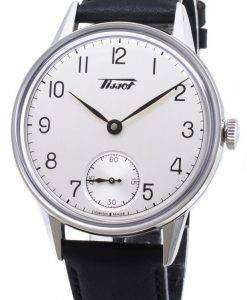 ティソヘリテージ小柄 seconde T 119.405.16.037.00 T1194051603700 自動アナログメンズ腕時計