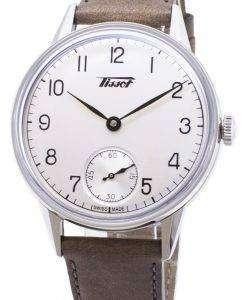 ティソヘリテージ小柄 seconde T 119.405.16.037.01 T1194051603701 自動アナログメンズ腕時計