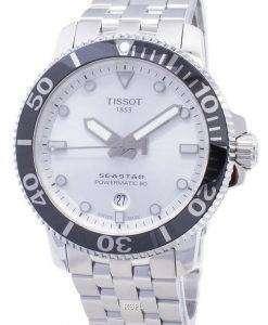 ティソ T-スポーツシースター T 120.407.11.031.00 T1204071103100 Powermatic 80 300M メンズ腕時計