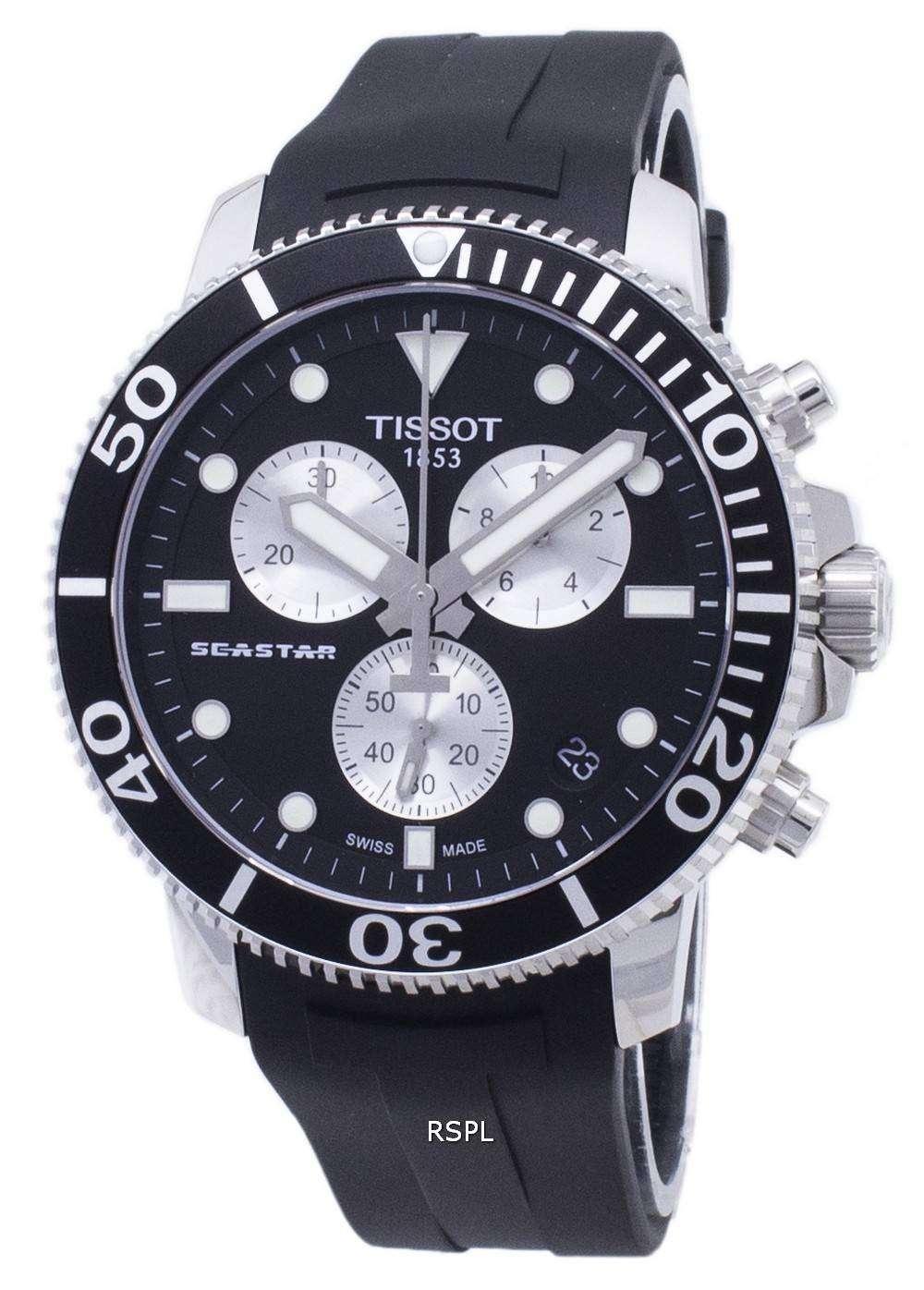 ティソ T-スポーツシースター T 120.417.17.051.00 T1204171705100 クロノグラフ300メンズ腕時計
